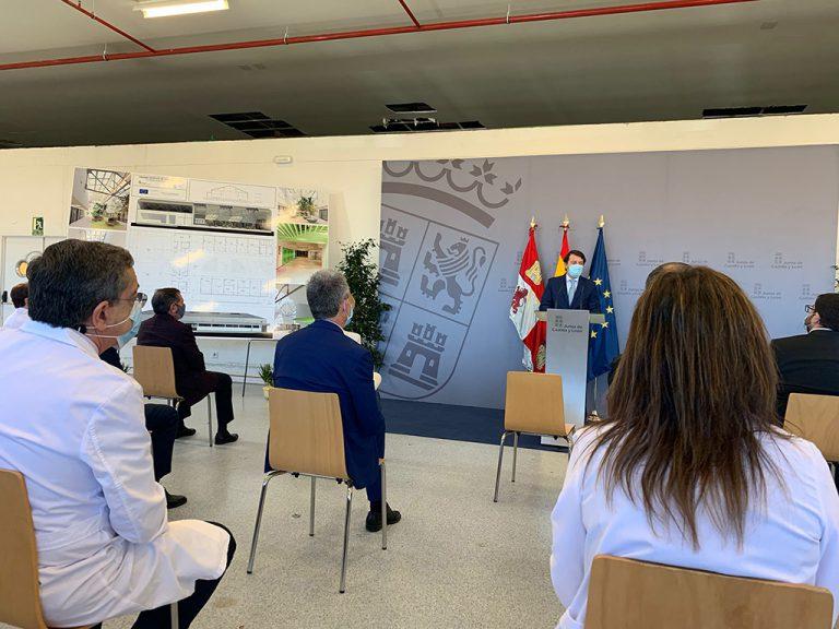 La unidad de radioterapia de Ávila, para el primer semestre de 2022.
