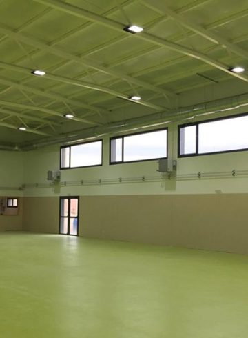 Construcción de gimnasio y pista deportiva en IES Humanes de Cubas de la Sagra