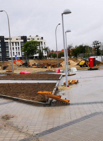 Obras de Urbanización del APE 21.07 Iberia L.A.E. – Ntra. Sra. de LLoreto en Barajas (Madrid)