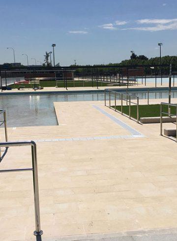 Reforma del recinto de piscinas del Parque Deportivo Puerta de Hierro